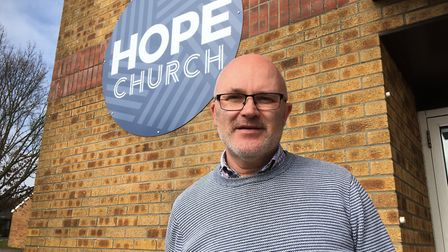 Hope Church team leader Graham Blake who had helped launch a campaign to the turn the former Apollo