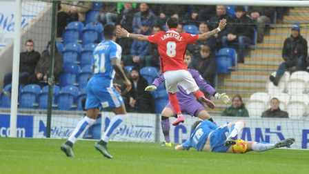Colchester lost 3-1 at home to Coventry this afternoon