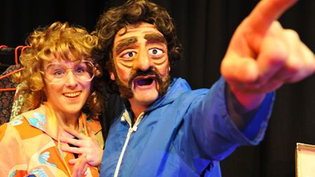 Abi Hood and husband Kevin Tomlinson in On The Edge! coming to Bury St Edmunds. Photo: Tony Pike
