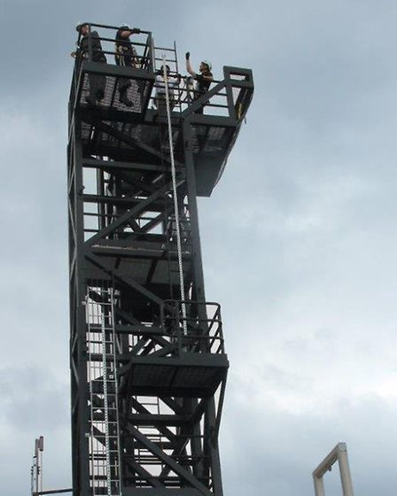 New training tower at Colchester Institute
