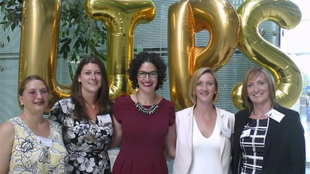 Some of the women who attended the first Ladies in Property Suffolk (LiPS) event in June 2015.