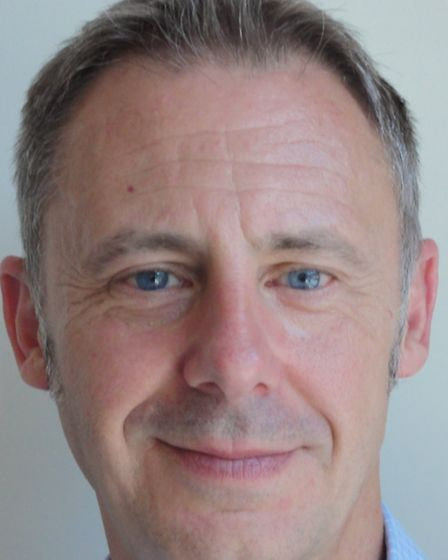 Frank Sims, new chief executive of Colchester Hospital University Foundation NHS Trust
