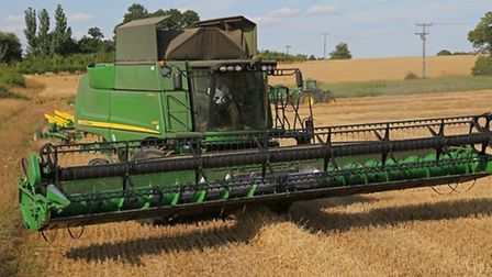 Film Maker Chris Lockwood has spent a year filming John Deere machinery in action on the Norfolk/Suf