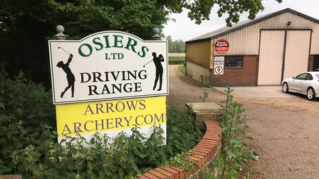 Osiers Driving Range and the Land of Golf pro-shop at Stuston is up for sale. Picture: Archant Libra