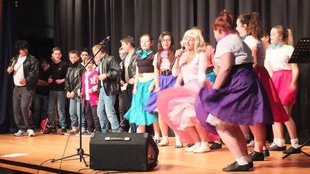 Students and staff at Alde Valley Academy at Leiston took part in a Children in Need variety show.