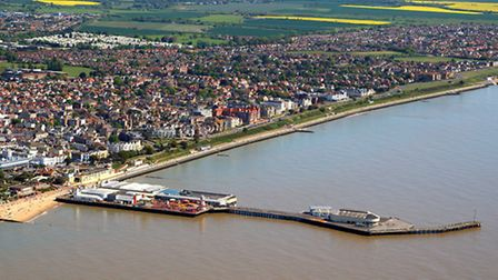 Clacton on Sea in the Tendring district. The district needs 10,000 new homes over the next 17 years.