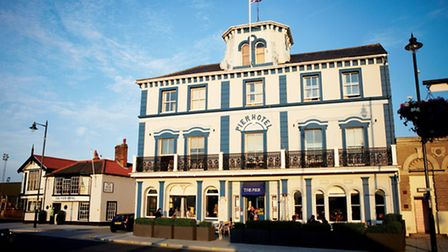 The Pier at Harwich hotel and restaurant which is to close for refurbishment.