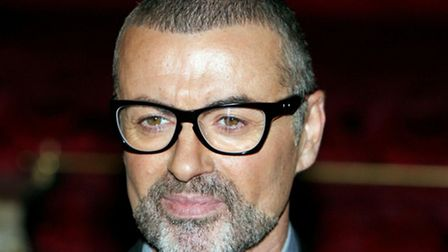 George Michael pictured at The Royal Opera House in Covent Garden where he announced his latest to