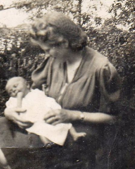 Pat and Janet in June, 1943