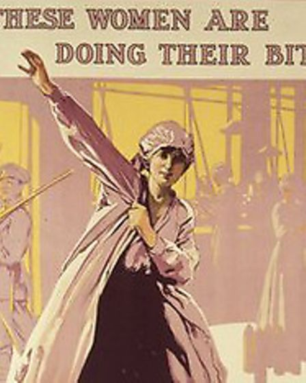 Poster advertising for munition workers