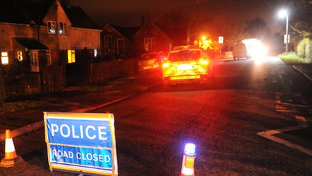 Damage to building caused by power cable results in road closure in Mendlesham