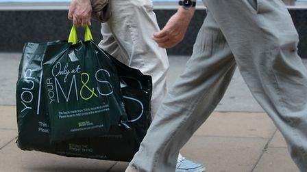 Marks and Spencer today unveiled a better-than-expected rise in half-year profits, but saw a further