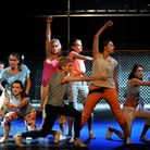 The Irving Stage Company staging a captivating production of West Side Story at the Theatre Royal, i