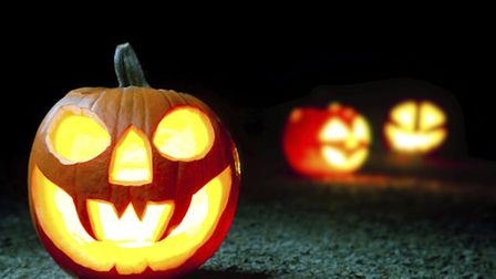 Criminal damage was caused to a property in Framlingham on the night of Halloween