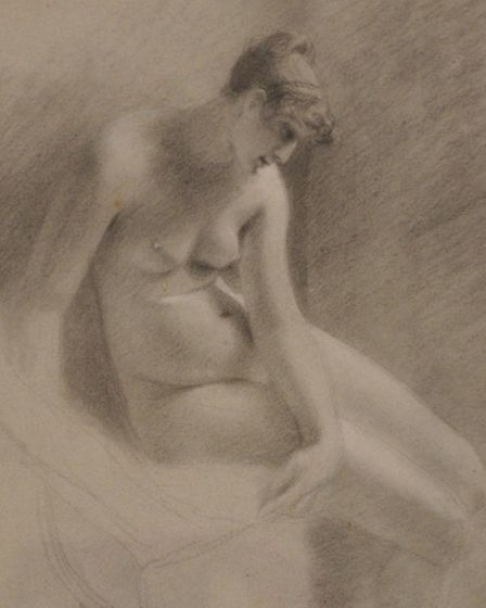 A nude by John Constable which forms a link with Lucien Freud