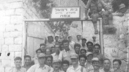Tom Bowden fought for the nascent State of Israel in the 1948 War of Independence. Picture: Bowden F