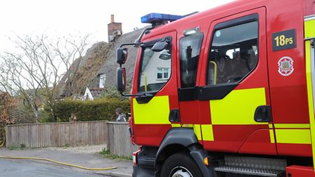 Chimney fire in Sproughton (stock image).