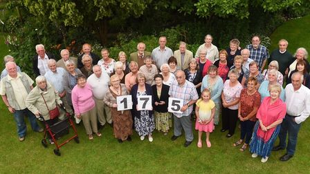 Diss & District Horticultural Society celebrated its 175th anniversary with a garden party at Heath