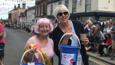 Hundreds of people enjoyed the Pink Ladies Tractor Run. Picture: Victoria Pertusa