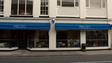 The unnamed child stepped barefoot on a recessed floor-light in the middle of a patio at Prezzo in C