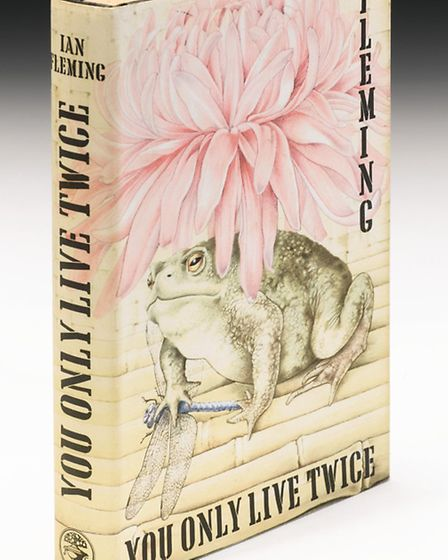 You Only Live Twice cover by Wivenhoe artist, To be sold at auction