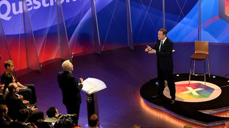 Prime Minister David Cameron appeared on a special Question Time just days before the General Electo