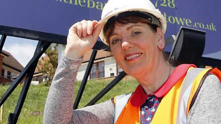 Heather Blemings of Gipping Homes, which faces a shortage of bricklayers.