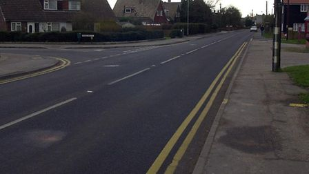 The new cycle path will take riders up to Wivenhoe fire station, close to the junction of Colchester