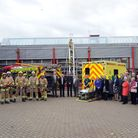 The official opening of the Suffolk Fire and Rescue Service and East of England Ambulance Service NH