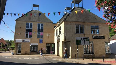 Planners have approved to convert offices in Navire House in Diss into two apartments. Picture: Simo
