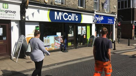 McColl's convenience store on Mere STreet in Diss is to close. Picture: Simon Parkin