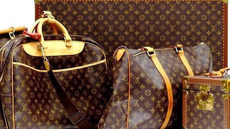 Vintage Louis Vuitton bags sold for more than £7.5k in Diss. Picture: TW Gaze