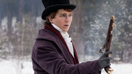 Paul Dano as Pierre Bezukhov in the BBC's upcoming adaptation of War and Peace - (C) BBC - Photograp