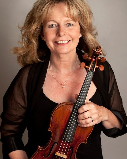 Rosemary Warren-Green, an acclaimed violin/viola player, will stage a concert in Fersfield with her