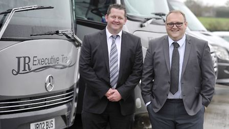 Andy Fisk and Ian Tooke are the new joint managing directors at JR Executive Travel.