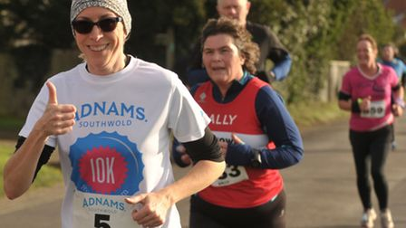 Hundreds of runners took part in the Adnams 10K in Southwold on Sunday 22nd November.