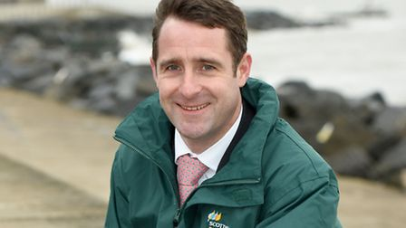 Charlie Jordan, project manager for the East Anglia One windfarm.