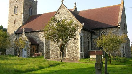 St Peter's Church, Baylham, which has been awarded £5,000 by the National Churches Trust