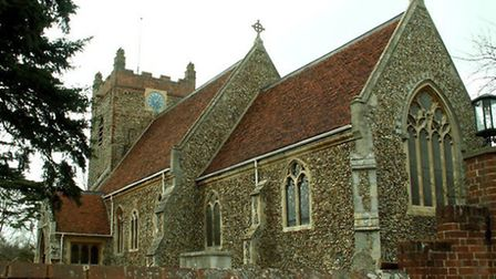 St Andrew's Church, Wormingford, which has been awarded �5,000 by the National Churches Trust. Photo