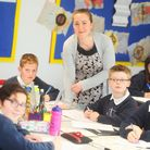 Gislingham Primary School is second highest for Key Stage 2 statistics in Suffolk. Pictured is Year