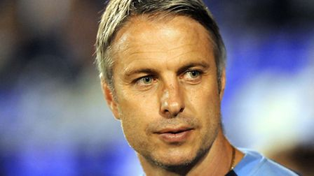 Kit Symons, a possible candidate for the U's managerial job. He was at yesterday's game.
