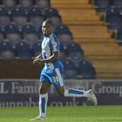 Callum Harriott, who netted a 14th minute equaliser for the U's against Altrincham this afternoon.