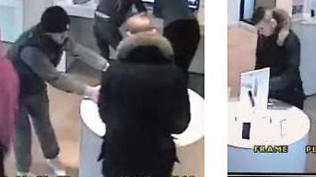 CCTv images released after thefts from the iStore in Ipswich