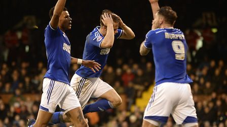Ipswich can't believe they haven't scored late on at Fulham