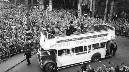 Ipswich fans and players celebrate success in 1962. It didn't go so well the following year.