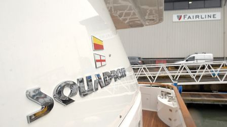 The Fairline testing facility at Ipswich.