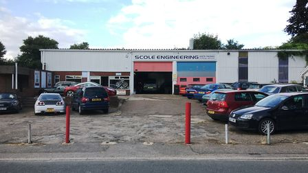 Scole Engineering on Diss Road could move as part of plans for new homes on the site. Picture: Simon
