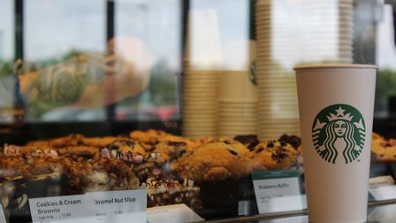 A new Starbucks has opened at Snetterton on the A11. Picture: Marc Betts