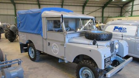A fully restored MK1 Land Rover sold for £36,000