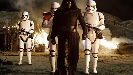 Suffolk County Council's cabinet arrived at Elstree today - the home of the Star Wars franchise.